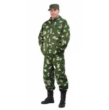 "Костюм мужской ""Турист 1"" летний, кмф тк.Грета ""Граница зеленая"""