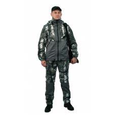 """Флисовый костюм """"Панда"""" кмф """"Серый лес"""" с накладками,350г/м2"""