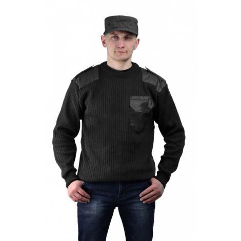 Джемпер форменный черный