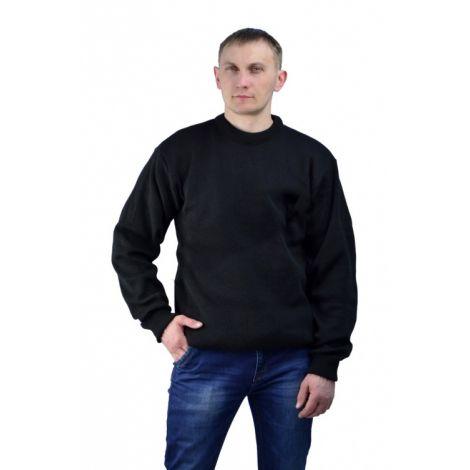 Джемпер п/ш классический черный