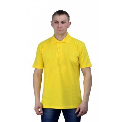 Рубашка-поло жёлтая