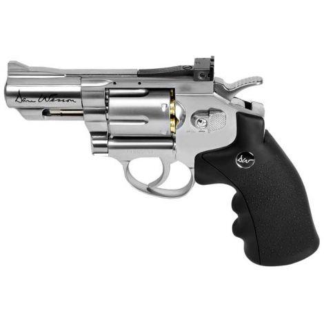 Пневматический пистолет ASG Dan Wesson 2.5 серебристый Silver 4,5 мм