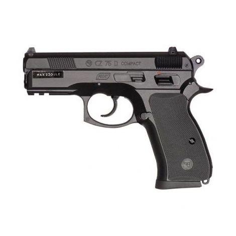 Пневматический пистолет ASG CZ 75 D Compact пластик 4,5 мм