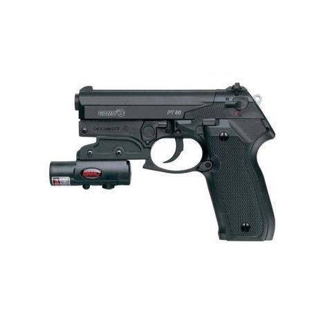 Пневматический пистолет Gamo PT-80 Combo laser 4,5 мм