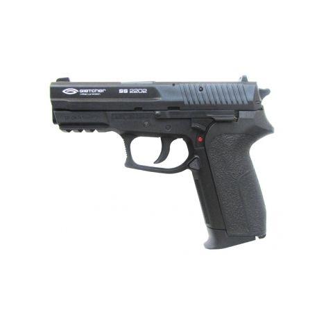 Пневматический пистолет Gletcher SS 2202 пластик 4,5 мм