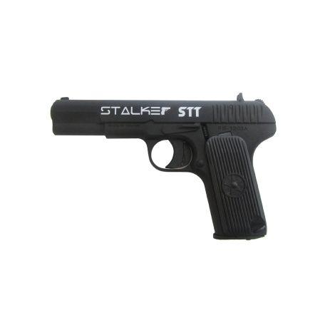 Пневматический пистолет Stalker STT (аналог TT) металл, черн. 4,5 мм (ST-21051T)