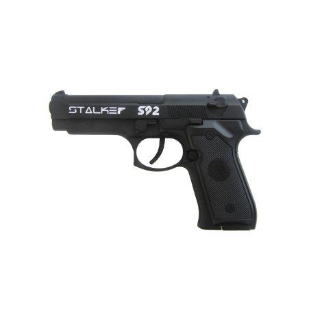 Пневматический пистолет Stalker S92 (аналог Beretta 92) металл, черн. 4,5 мм (ST-21051B)