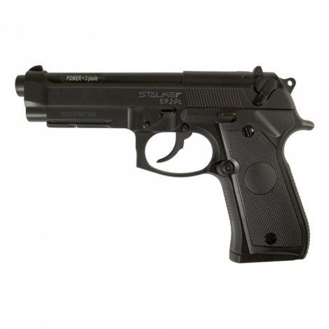 Пневматический пистолет Stalker S92PL (аналог Beretta 92) 4,5 мм (ST-12051PL)