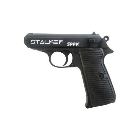 Пневматический пистолет Stalker SPPK (аналог Walther PPKS) металл, черн. 4,5 мм (ST-21061P)