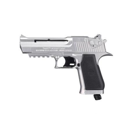 Пневматический пистолет Umarex Baby Desert Eagle (никель) 4,5 мм