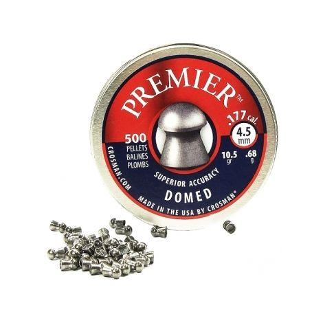 Пули пневматические Crosman Premier Domed 4,5 мм 10,5 гран (500 шт.)