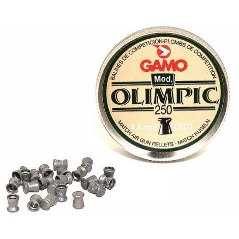 Пули пневматические GAMO OLIMPIC 4,5 мм 0,49 грамма (250 шт.)
