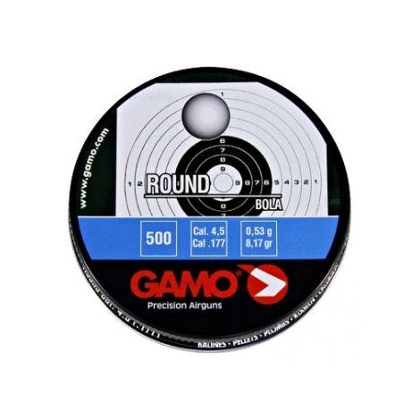 Пули пневматические GAMO Round 4,5 мм 0,53 грамма (500 шт.)