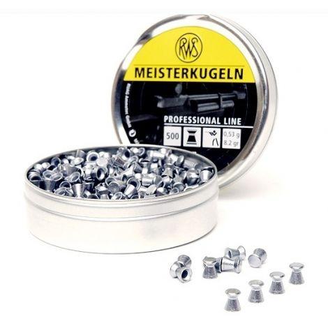 Пули пневматические RWS Meisterkugeln 4,5 мм 0,53 грамма (500 шт.)
