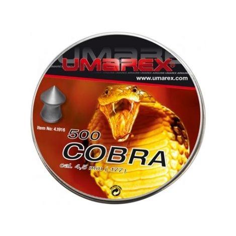 Пули пневматические Umarex Cobra 4,5 мм 0,52 грамма (500 шт.)