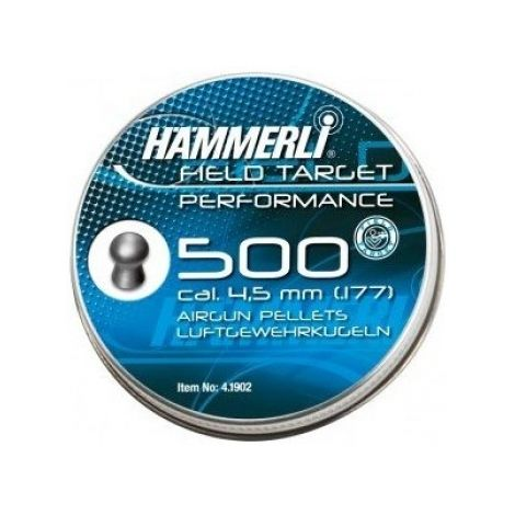 Пули пневматические Umarex Hammerli FT Perfomance 4,5 мм 0,56 грамма (500 шт.)