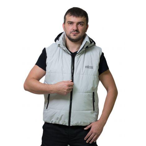 Жилет «Партизан» (ткань: таслан, цвет: светло-серый) Payer
