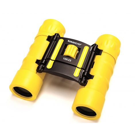 Bushnell TASCO 10x25 ESSENTIALS, FRP COMPACT, YELLOW 168RBY