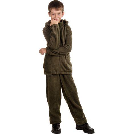 Костюм «Никс» детский (ткань: флис, цвет: хаки) Novatex