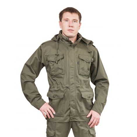 Куртка «Нато» (ткань: хлопок 100%, цвет: хаки) Payer
