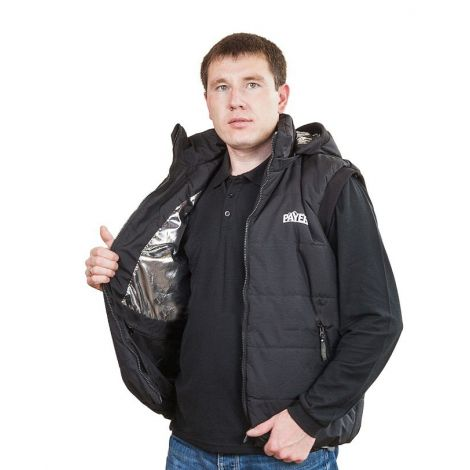 Жилет «Партизан» (ткань: таслан, цвет: черный) Payer