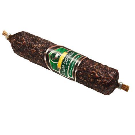 Колбаса сырокопченая из оленины