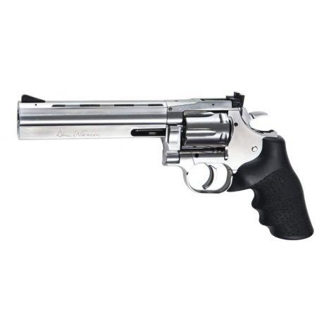 Пневматический пистолет ASG Dan Wesson 715-6 silver 4,5 мм