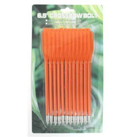 Дротики для арбалетов-пистолетов пластиковые оранжевые (12 шт.)