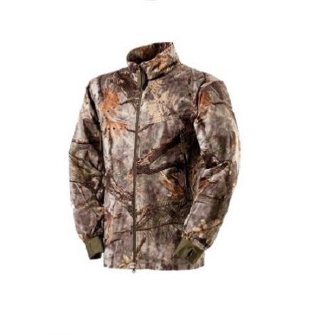 Верхняя флисовая охотничья куртка ForestGreen