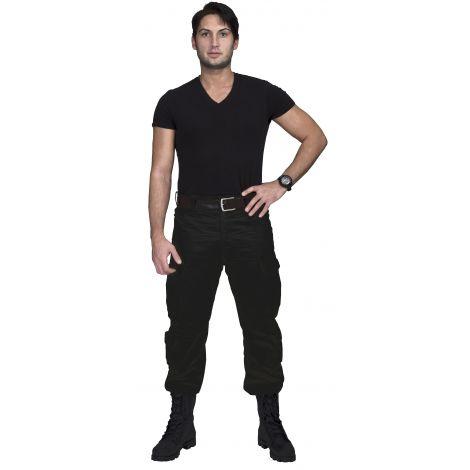 Брюки «Нато» (ткань: смесовая рип-стоп, цвет: черный камуфляж) Payer