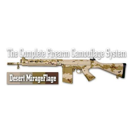 Трафарет камуфляжный Duracoat Desert MirageFlage