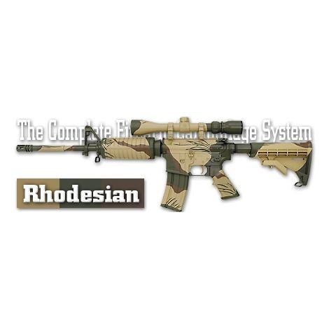 Трафарет камуфляжный Duracoat Rhodesian