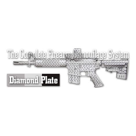 Трафарет камуфляжный Duracoat Diamond Plate