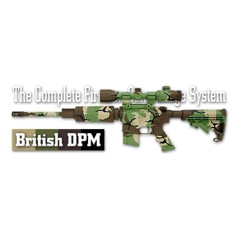 Трафарет камуфляжный Duracoat British DPM