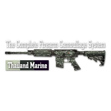 Трафарет камуфляжный Duracoat Thailand Marine