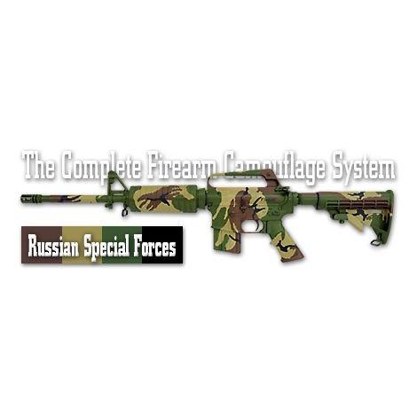 Трафарет камуфляжный Duracoat Russian Special Forces