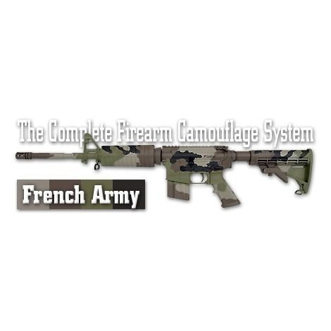 Трафарет камуфляжный Duracoat French Army