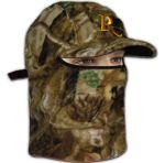 Флисовая маска с козырьком Remington (лес)