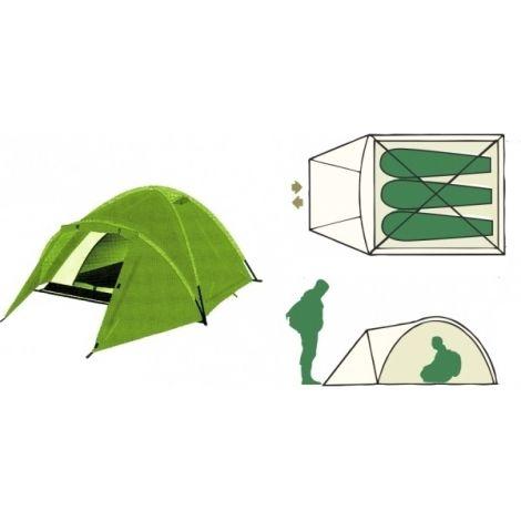 Палатка туристическая Remington 3-местная