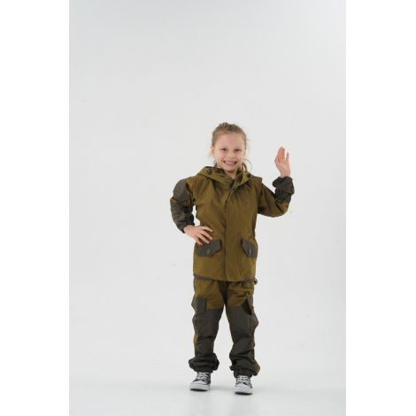 Костюм «Горка Осень» детский (ткань: палатка, цвет: хаки) Маугли