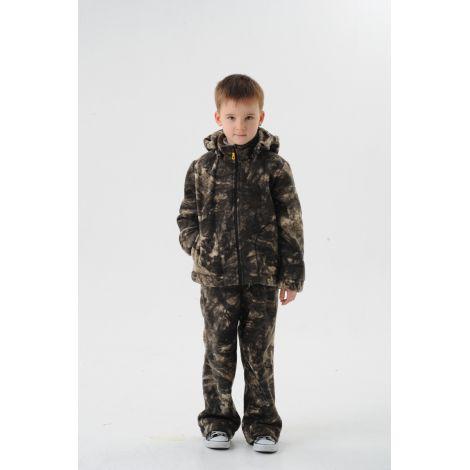Костюм «Никс» детский (ткань: флис, цвет: лес) Маугли