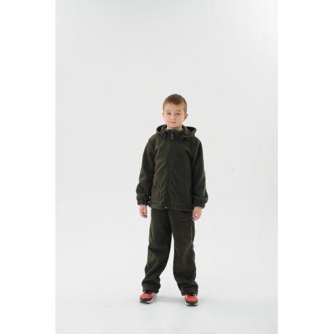 Костюм «Никс» детский (ткань: флис, цвет: хаки темный) Маугли