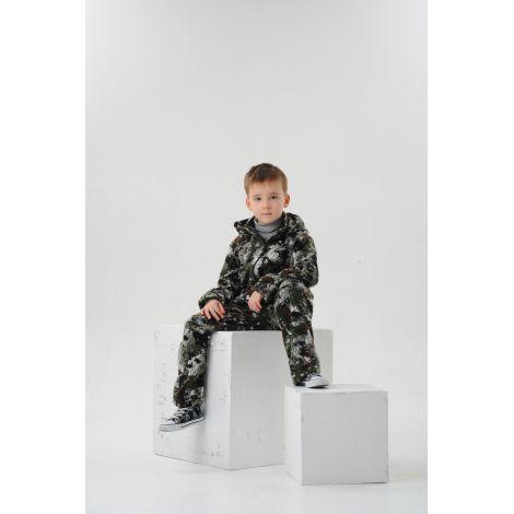 Костюм «Никс» детский (ткань: флис, цвет: ягель) Маугли