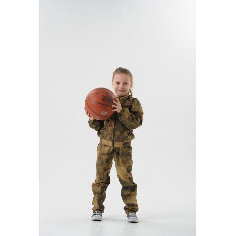 Костюм «Пионер» детский (ткань: сорочка, цвет: атакс) Маугли