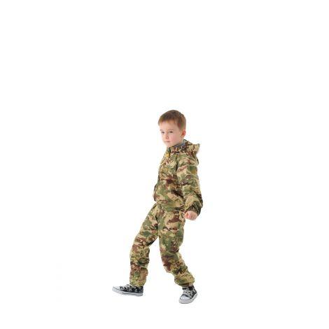 Костюм «Пионер» детский (ткань: сорочка, цвет: мультикам) Маугли