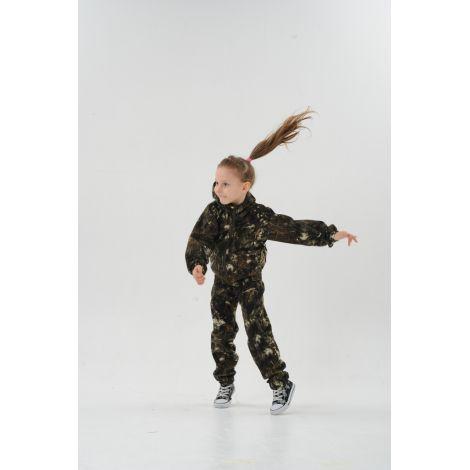 Костюм «Скаут» детский (ткань: смесовая, цвет: бурелом) Маугли