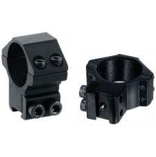 Кольца Leapers AccuShot 30мм, на призму 10-12 мм, средние