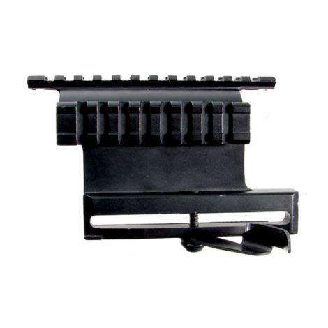 Кронштейн Leapers UTG боковой быстросъемный с 2-мя планками Weaver на Тигр, Сайгу, Вепрь