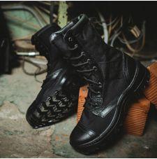 Ботинки с высокими берцами Garsing Rush Black