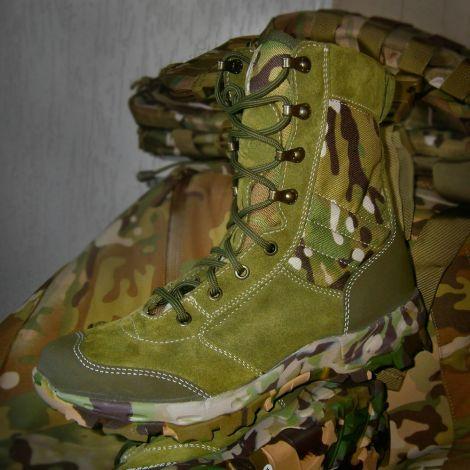 Ботинки с высокими берцами Garsing Saboteur Camo Multi
